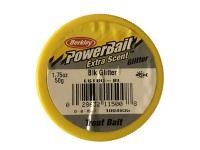 PowerBait Extra Scent Glitter Trout Bait - Black Glitter