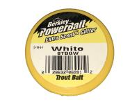 PowerBait Extra Scent Glitter Trout Bait White