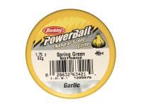 PowerBait Natural Scent Glitter Garlic/Ail Spring Green