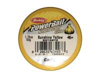 PowerBait Natural Scent Glitter Garlic/Ail Sunshine Yellow