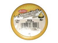 PowerBait Natural Scent Glitter Garlic/Ail White