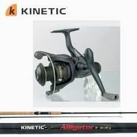 Kinetic Focus/Alligator: 5' Spinnesæt
