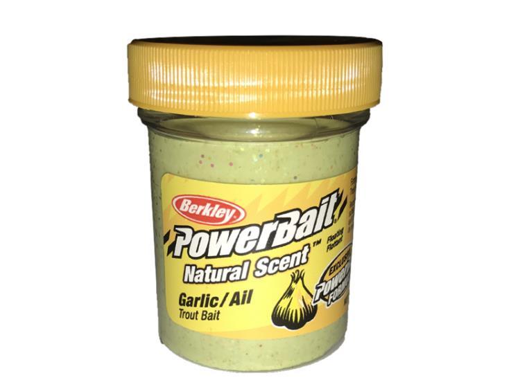 PowerBait Natural Scent Garlic/Ail Trout Bait
